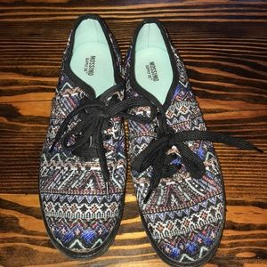 Tapestry print shoes from Target